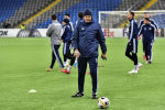 Тренер футбольной команды Астана Роман Григорчук
