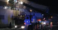 Пожар в гостиничном комплексе Форсаж