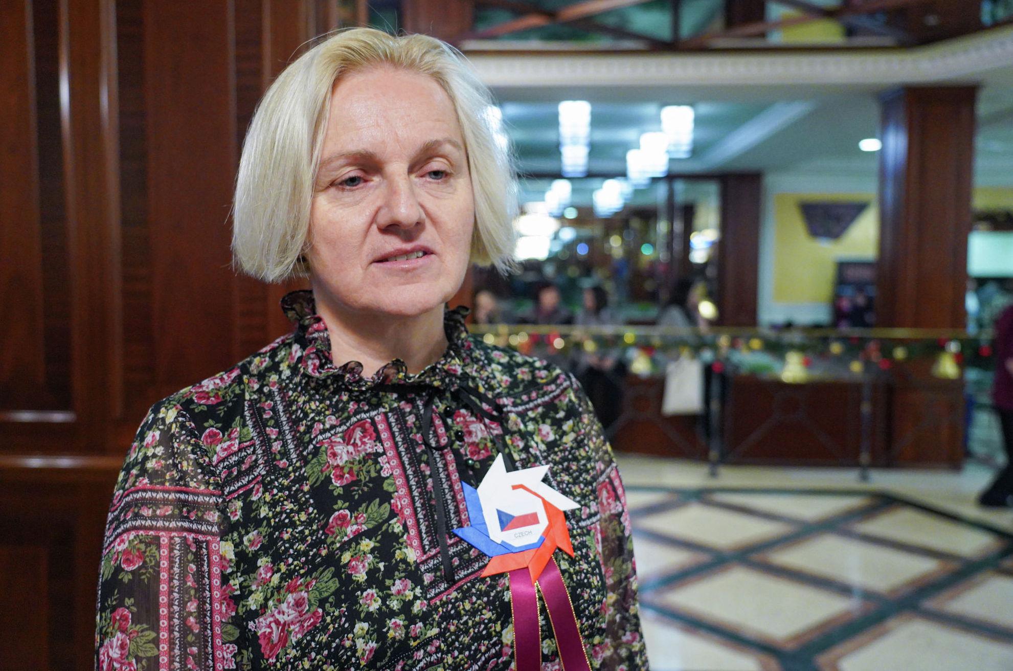 Супруга посла Чехии Даша Гиклова
