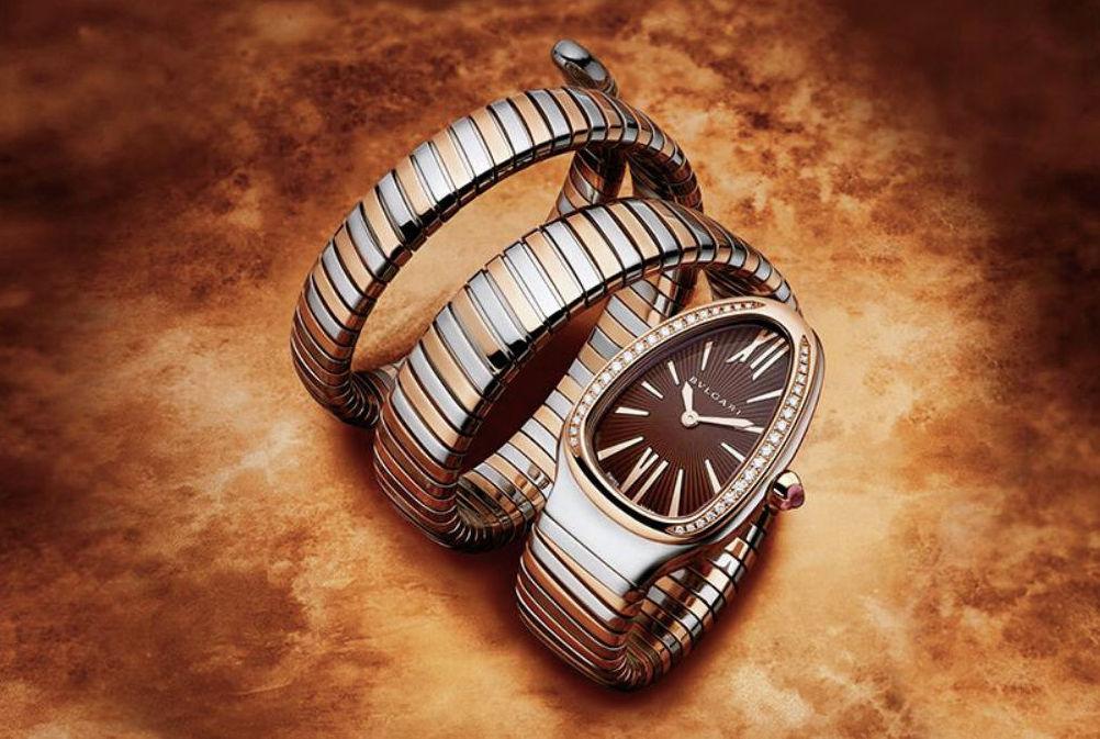 Bvlgari создали оригинальные часы Serpenti Tubogas с элегантным дизайном