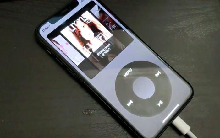 Появилось приложение, превращающее iPhone в классический iPod