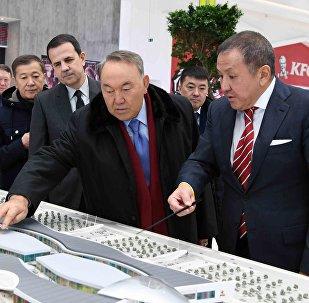 Назарбаев Астана ЭКСПО-2017 халықаралық көрмесі нысандарында болды