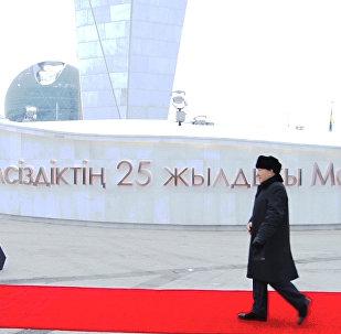 Итальяндық мәрмәр мен жел қайтарғыш: Астанадағы жаңа монумент қандай