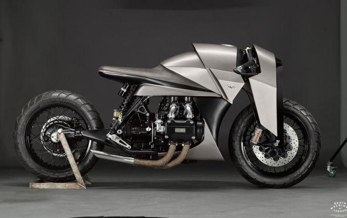 Мотоциклетная мастерская Death Machines of London представила двухколесного монстра Kenzo