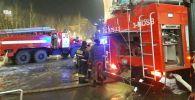 В Нур-Султане горит один из жилых комплексов