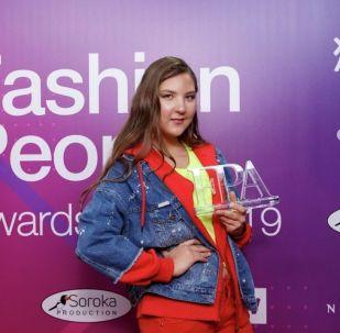 Казахстанка Эльгиза Каражанова получила награду на первой детской премии Fashion People Awards Kids-2019