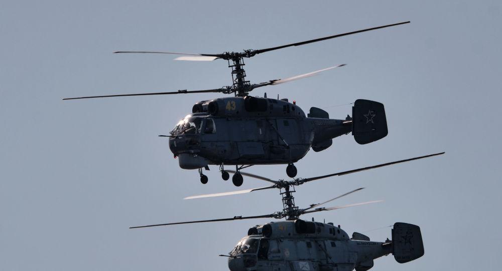 Корабельные вертолеты Ка-2