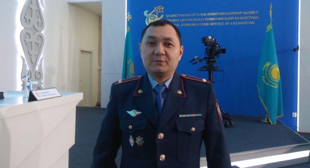 Начальник управления ювенальной полиции комитета административной полиции МВД Казахстана Асет Оспанов