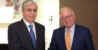 Глава государства встретился с председателем Мюнхенской конференции по безопасности Вольфгангом Ишингером