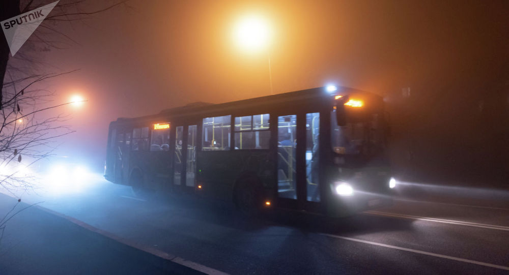 Автобус в тумане