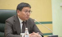Председатель Национального банка Республики Казахстан Ерболат Досаев