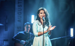 В концертном зале QAZAQSTAN прошел вечер французской музыки под названием La vie en rose казахстанской исполнительницы джаза Гульнары Кошеновой