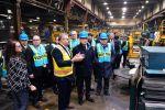 Аскар Мамин посетил производственные объекты в США