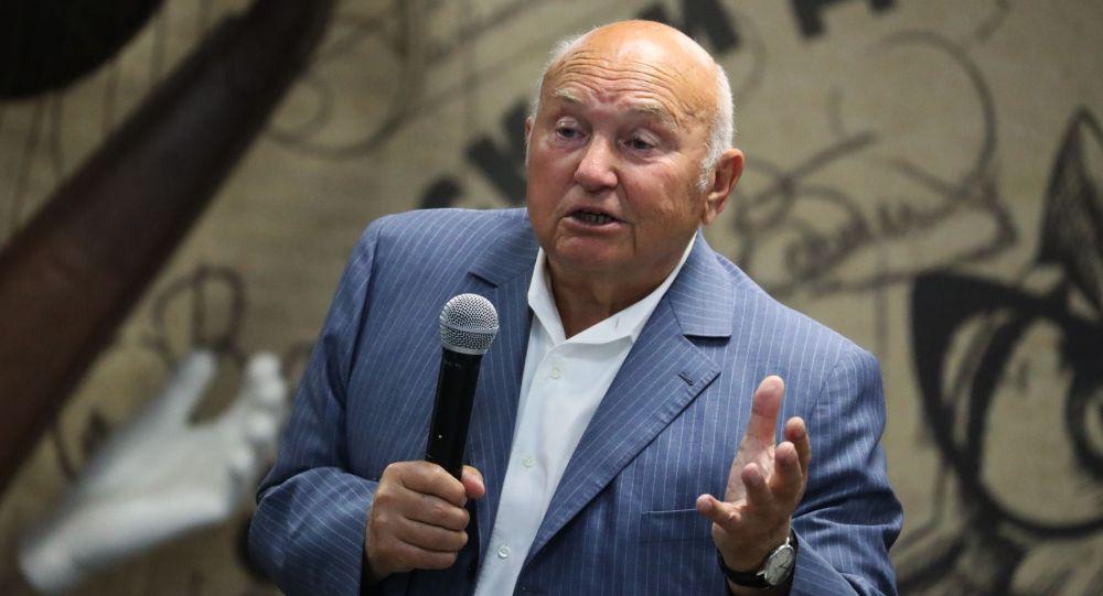 Бывший мэр города Москвы Юрий Лужков