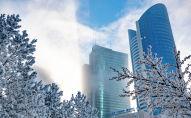 Виды города Нур-Султан зимой