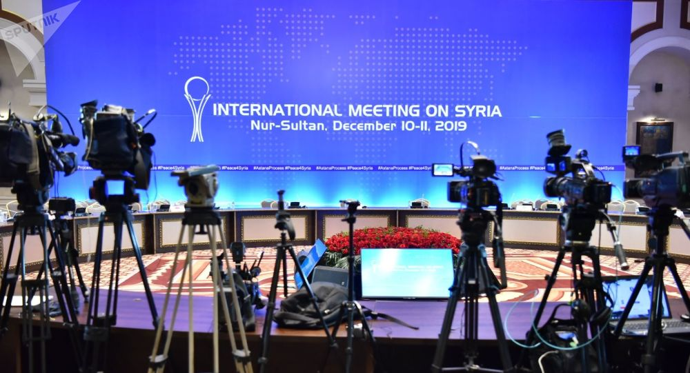 Сирийские переговоры. Нур-Султан, 11 декабря 2019 год