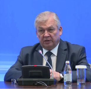 Александр Лаврентьев. Казахстан