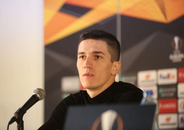 Футболист Партизана Слободан Урошевич