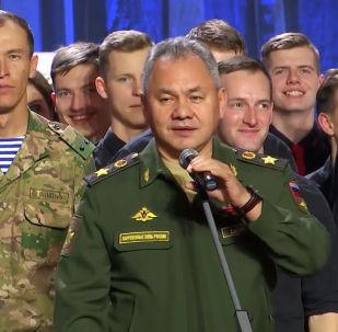 Сергей Шойгу на КВН