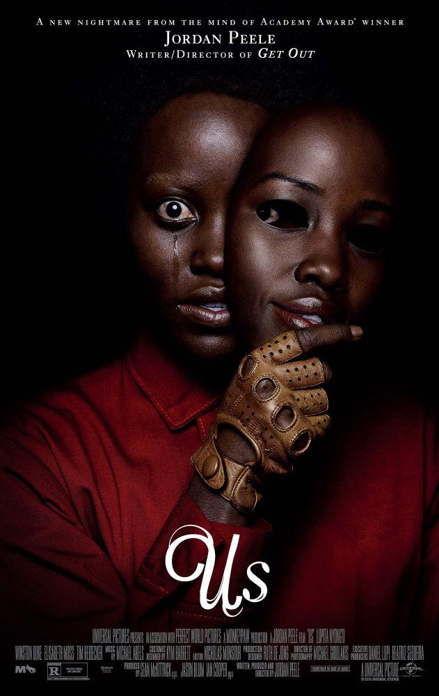 Постер к американскому фильму ужасов «Мы»