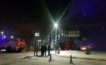 Пожар в ТРЦ Хан Шатыр
