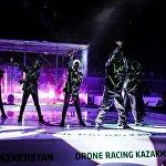 Роботы выступили с шоу-программой на Drone Racing Kazakhstan