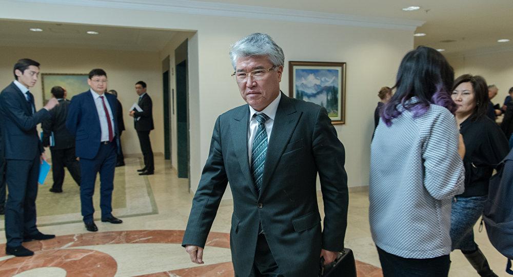 ҚР мәдениет және спорт министрі Арыстанбек Мұхамедиұлы