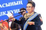 ОрденомБарыс первой степени была награждена Народная артистка СССР, лауреат государственной премии Казахстана, профессор Бибигуль Тулегенова