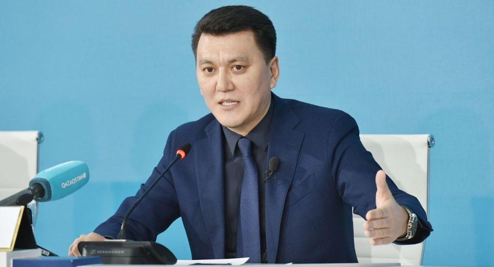 Руководитель телерадиокомпании Qazaqstan Ерлан Карин