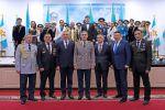 Награждение военнослужащих в преддверии Дня независимости Казахстана