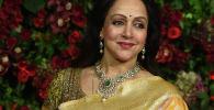 Болливудская актриса Хема Малини, сыгравшая главную роль в индийском фильме Зита и Гита