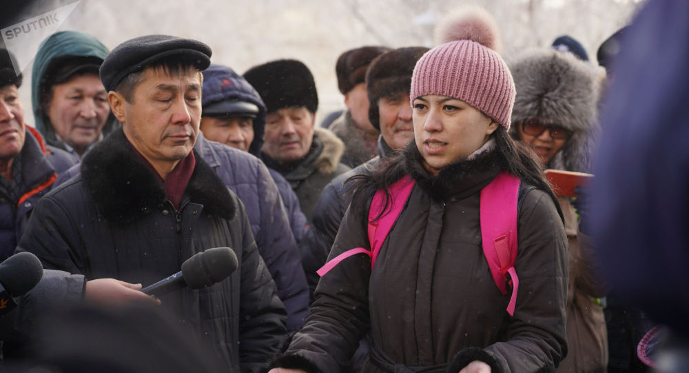 Астанада өткен митинг