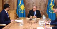 Встреча Елбасы с послом ОАЭ