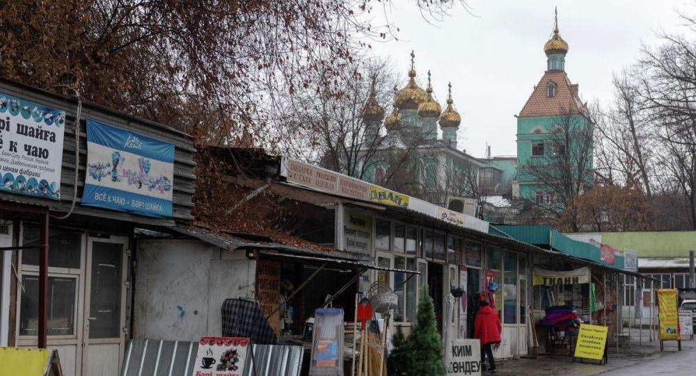 Никольский рынок в Алматы