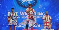 Қазақ күресінен әлем чемпионаты: жеңімпаздардың есімдері белгілі болды
