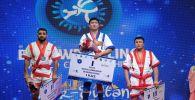 Қазақ күресінен әлем чемпионы атанған Дастан Ықыбаев