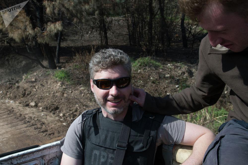 Специальный фотокорреспондент МИА Россия сегодня Андрей Стенин