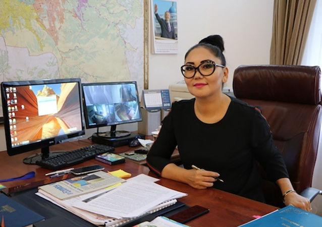 Руководитель департамента контроля качества и безопасности товаров и услуг Алматы Айзат Молдагасимова