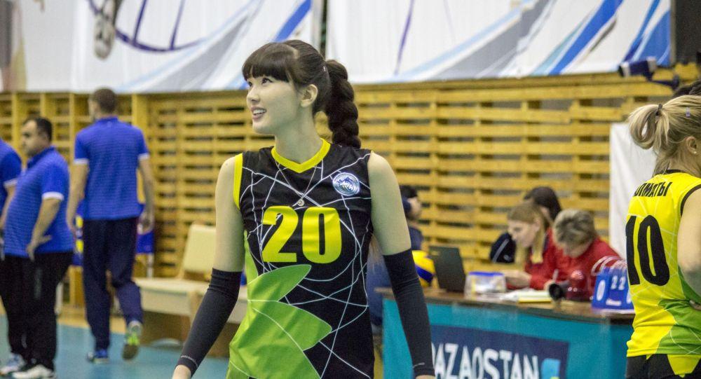 Волейболистка Сабина Алтынбекова