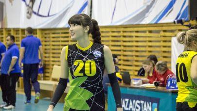 Волейболшы Сәбина Алтынбекова