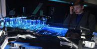 ИИ-процессор Ascend 910 на стенде компании Huawei на конференции по искусственному интеллекту Artificial Intelligence Journey (AIJ)