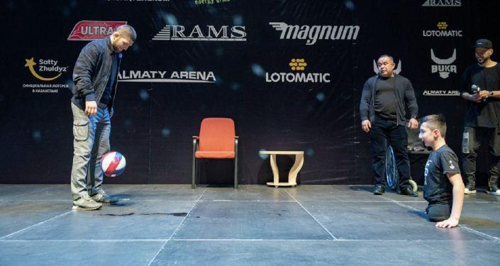 Хабиб Нурмагомедов и Али Турганбеков