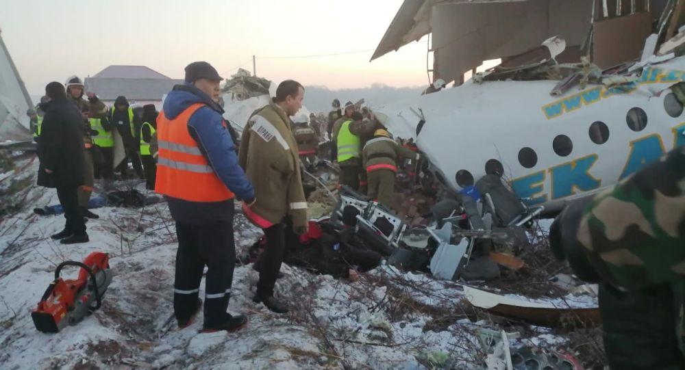 Крушение самолета Бек Эйр в Алматы