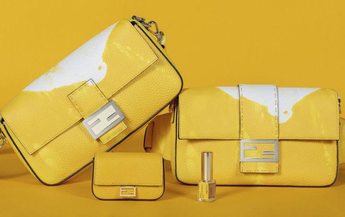 Модный дом Fendi и парфюмер Франсис Кюрджян выпустили «ароматную» сумку