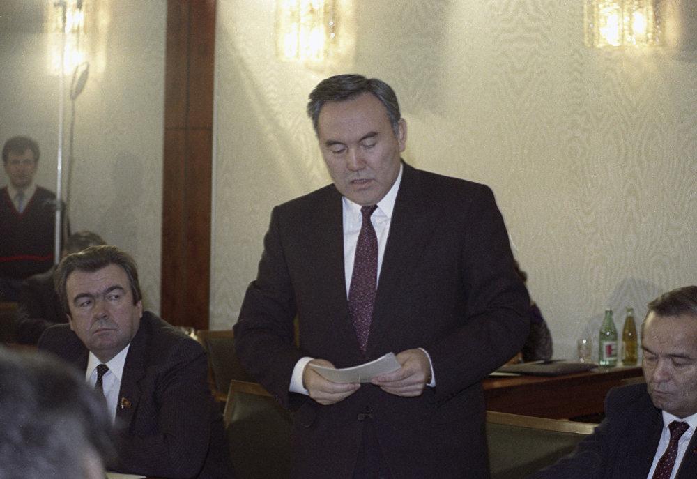 Қазақстан республикасы президенті Н. Назарбаев