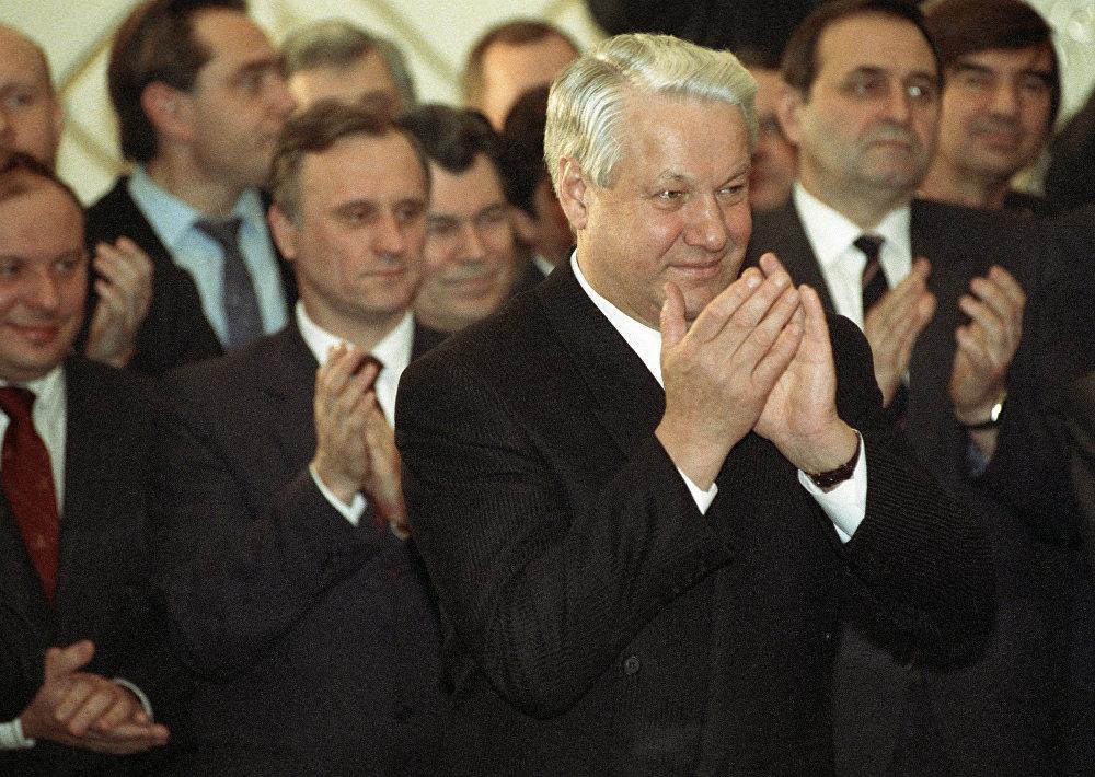 Ресей президенті Борис Николаевич Ельцин