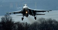 Летно-тактические учения истребительной авиации в Приморском крае