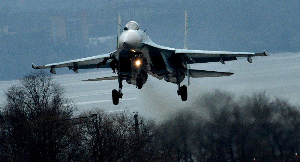 Су-27 ұшағы, архивтегі сурет