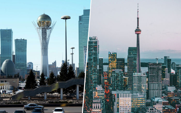 Почему Нур-Султан лучше, чем Торонто?