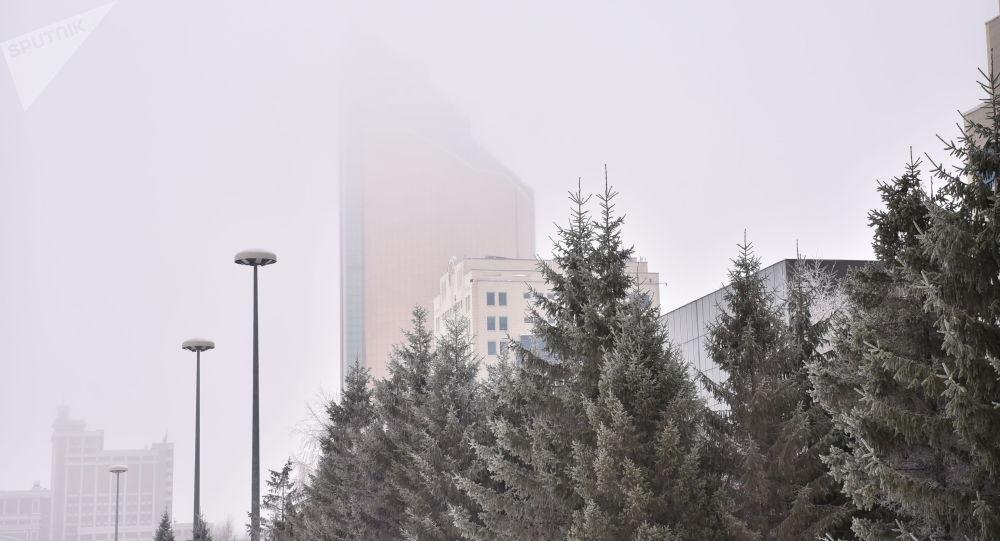 Туман в столице
